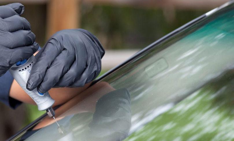 repair stone chipped windshield